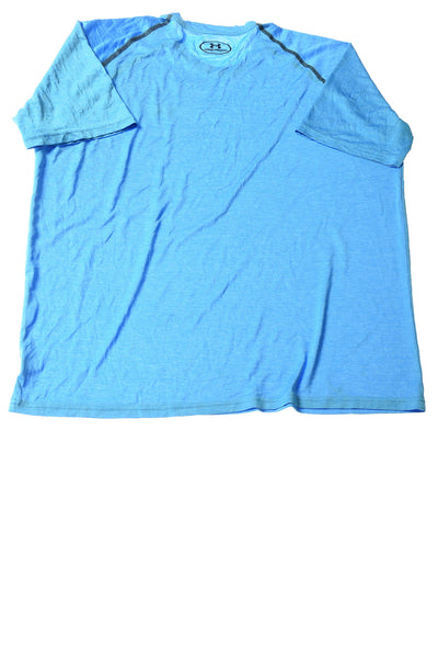 USED Under Armour Men's Shirt X-Large Blue