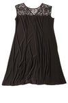 USED Catherines Women's Dress 1X Black
