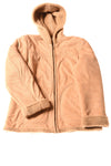 USED Jones New York Women's Coat 8 Tan