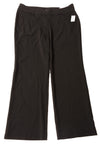 NEW Roz & Ali Women's Slacks 16 Black