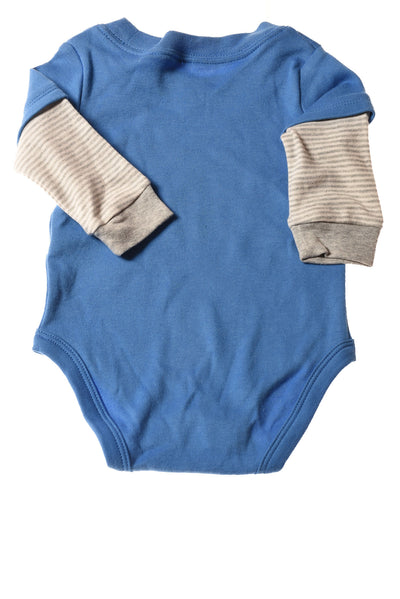 NEW Carter's Baby Boy's Top 3 Blue / Print