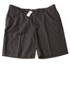 NEW IZOD Golf Men's Shorts 42 Charcoal / Plaid
