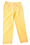 NEW Talbots Women's Pants 8 Yellow