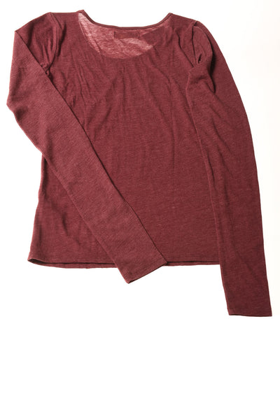 NEW Hollister Women's Top Small Maroon