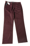 NEW Perry Ellis Men's Pants 32x30 Plum