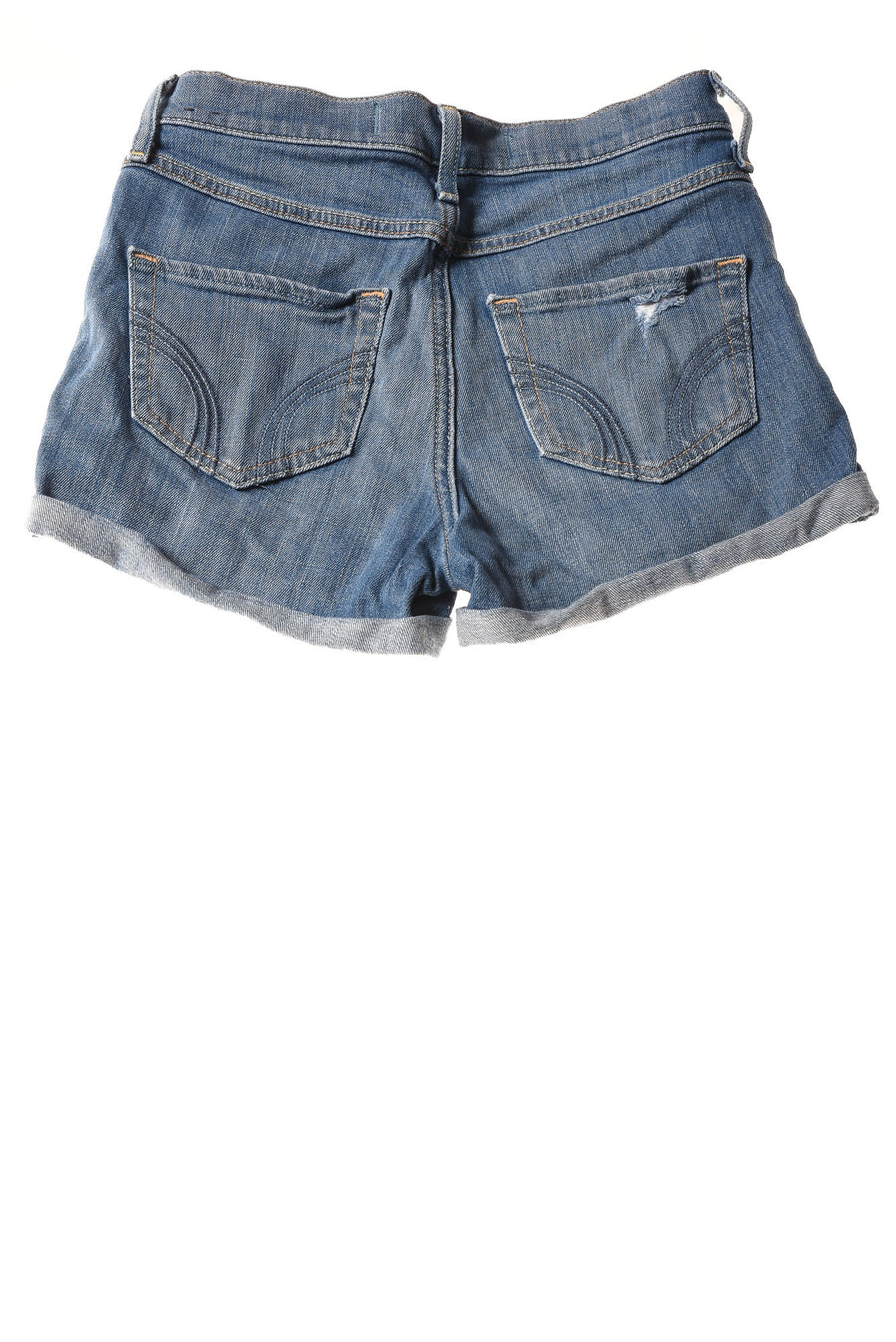 USED Hollister Women's Shorts 0 Blue