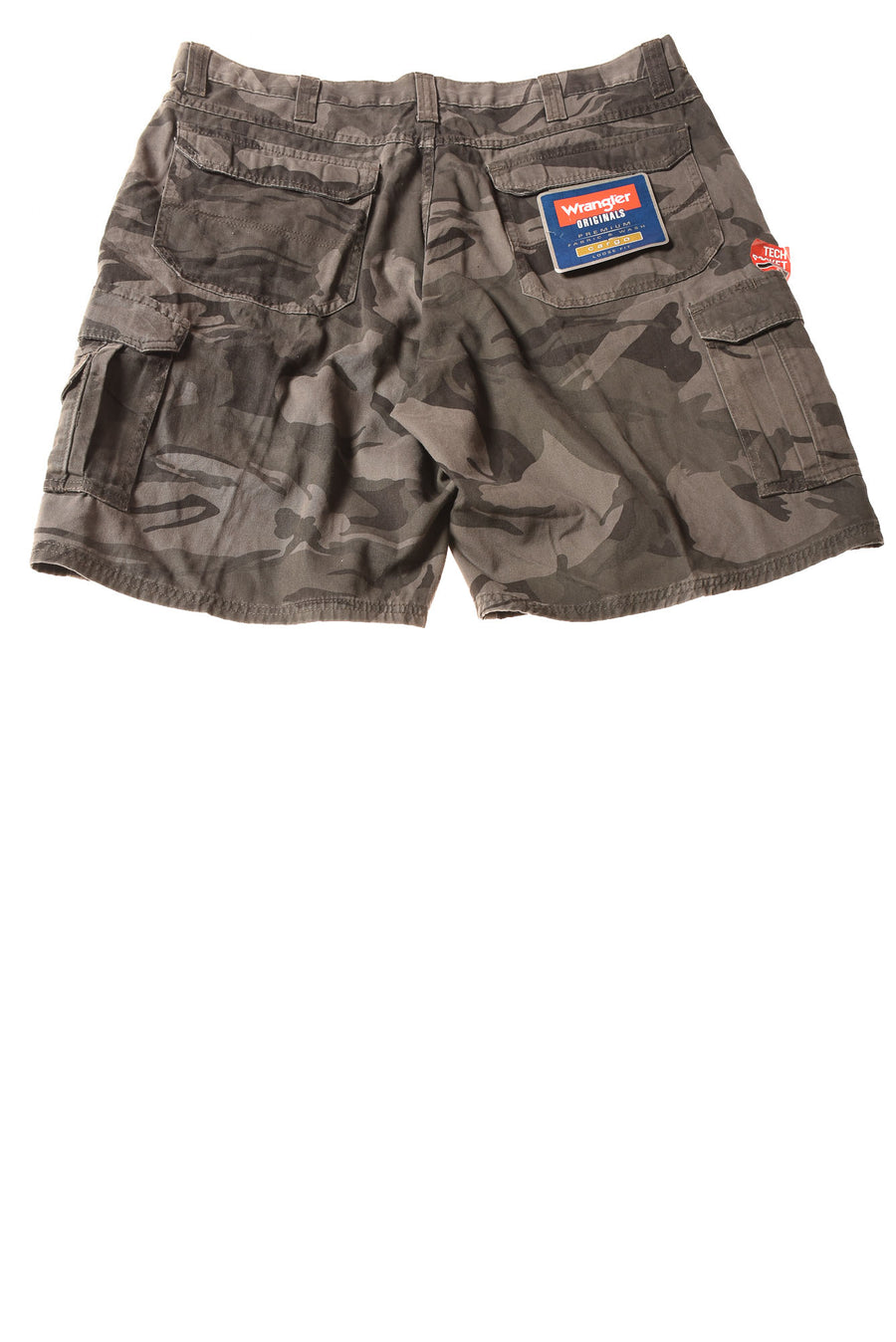 NEW Wrangler Men's Shorts 38 Gray/Camo