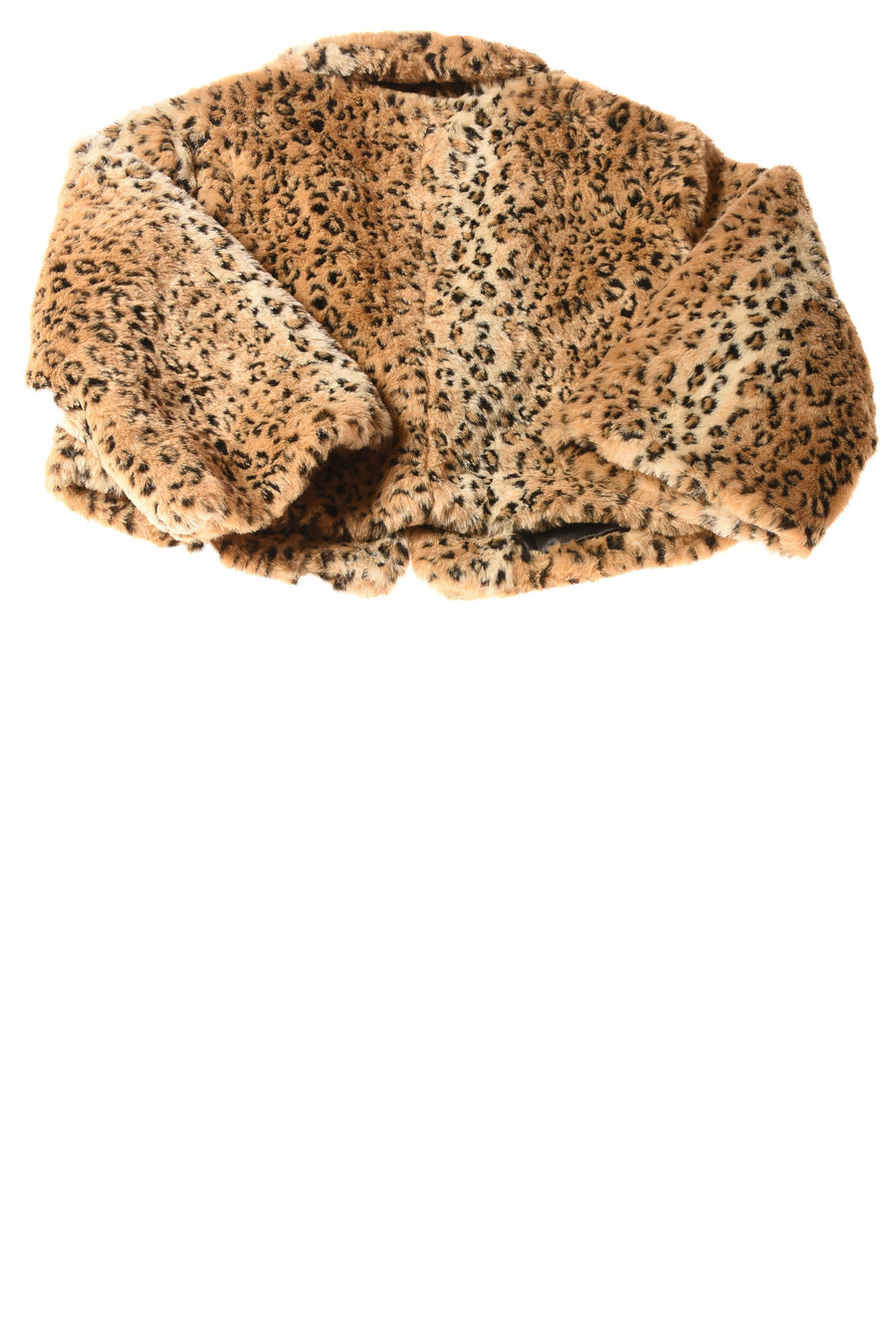 NEW Mossimo Women's Coat X-Large Brown / Leopard Print