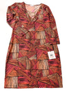 NEW Calvin Klein Women's Dress 6 Hibscus / Print
