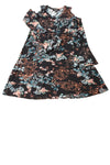 USED Karen Kane Women's Dress X-Small Black / Floral
