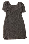 USED Free People Women's Dress Small Black