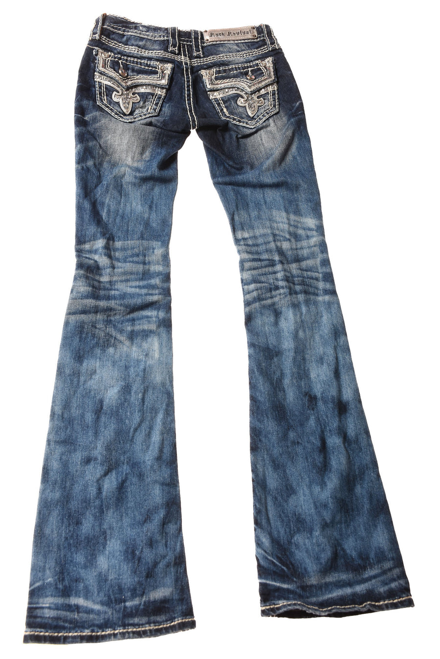 USED Rock Revival Women's Jeans 24 Blue