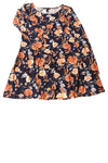 USED Forever 21 Women's Dress Large Navy / Floral