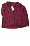 NEW Requirements Women's Sweater X-Large Merlot