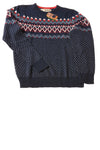 NEW Urban Pipeline Men's Sweater N/A Navy Blue / Print