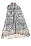 USED Donna Morgan Women's Dress 12 Blue / Print