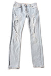 USED Forever 21 Women's Jeans 24 Light Blue