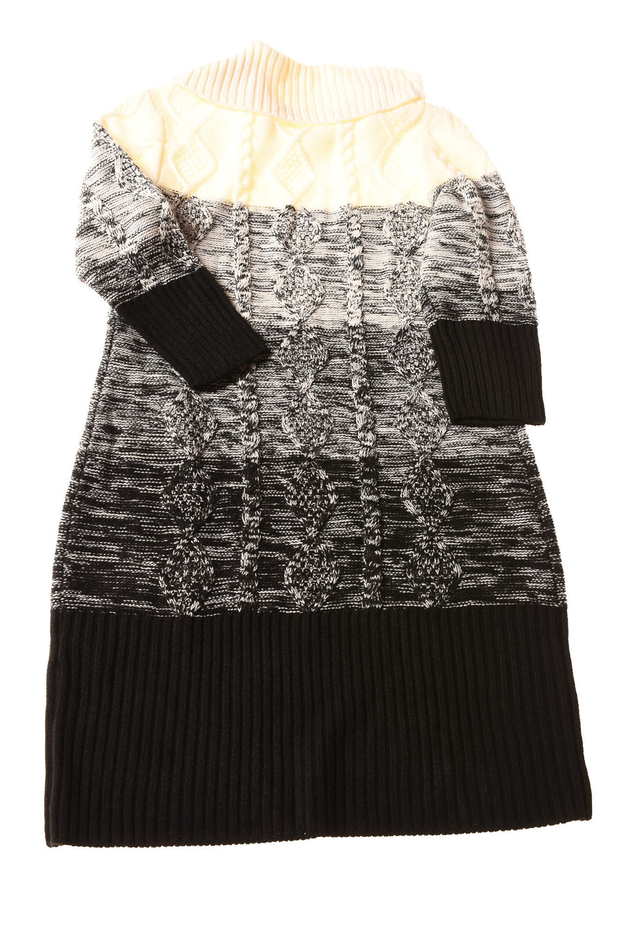 NEW Sandra Darren Women's Dress Large Black & White