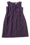 USED Calvin Klein Women's Dress 12 Purple