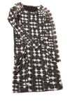 USED BCBG Maxazria Women's Dress Small Black & White