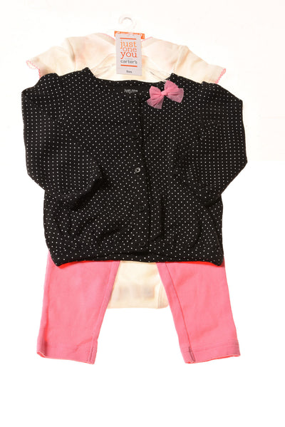 NEW Just One Baby Girl's Outfit 9 Months Multi-Color