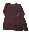 NEW Vera Wang Women's Sweater X-Small Plum