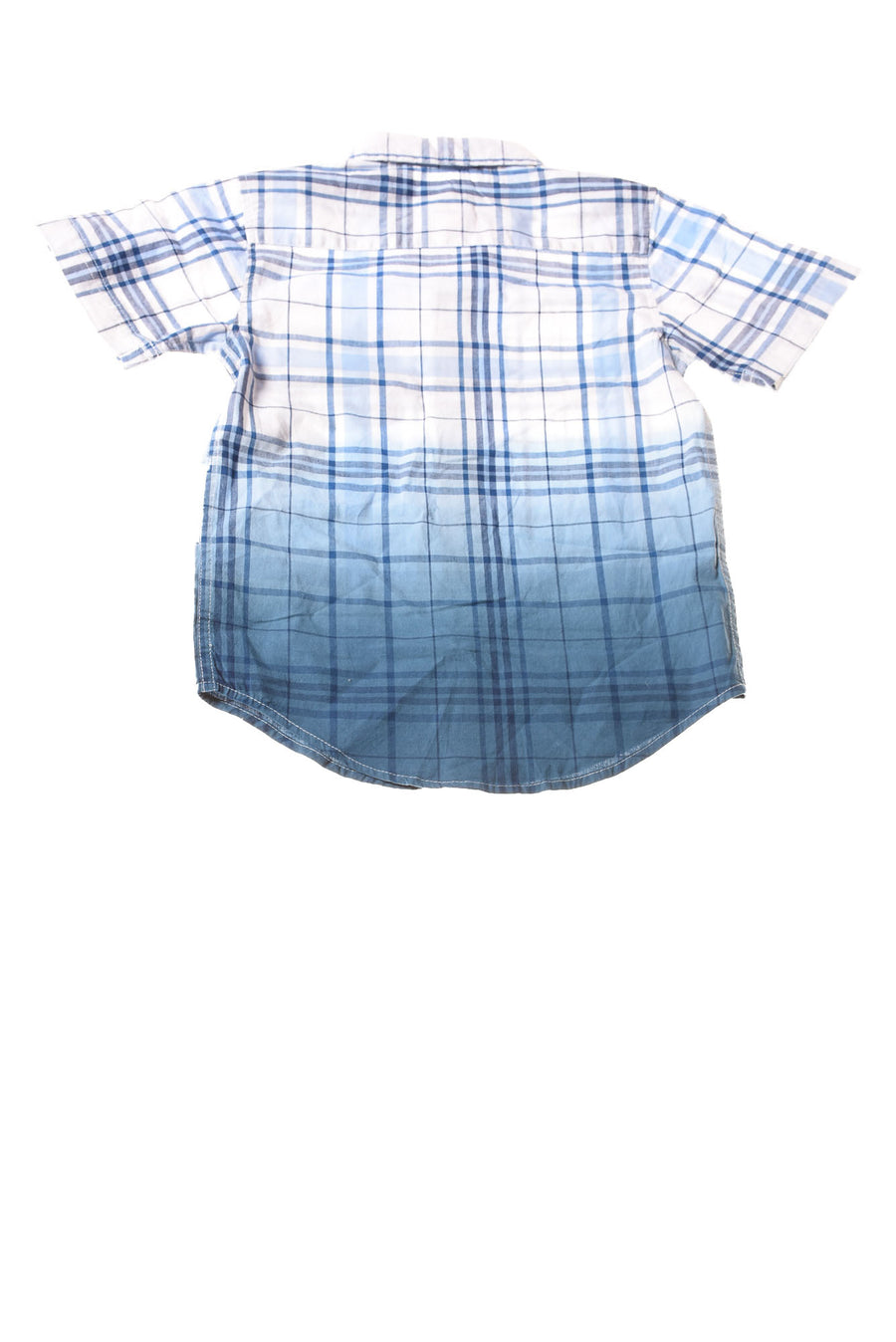 NEW Wrangler Toddler Boy's Shirt 4T-5T Blue / Plaid