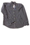 NEW Gap Men's Shirt X-Small Navy / Plaid