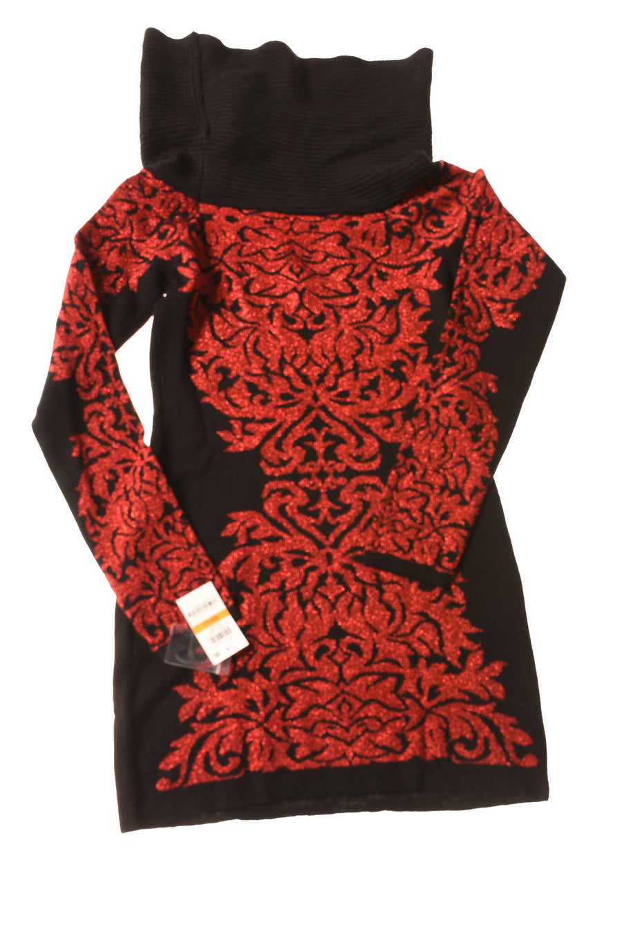 NEW International Concepts Women's Dress Small Black & Red