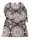 USED International Concepts Women's Dress Medium Black & White