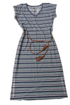 NEW Sonoma Women's Dress Small Navy / Striped