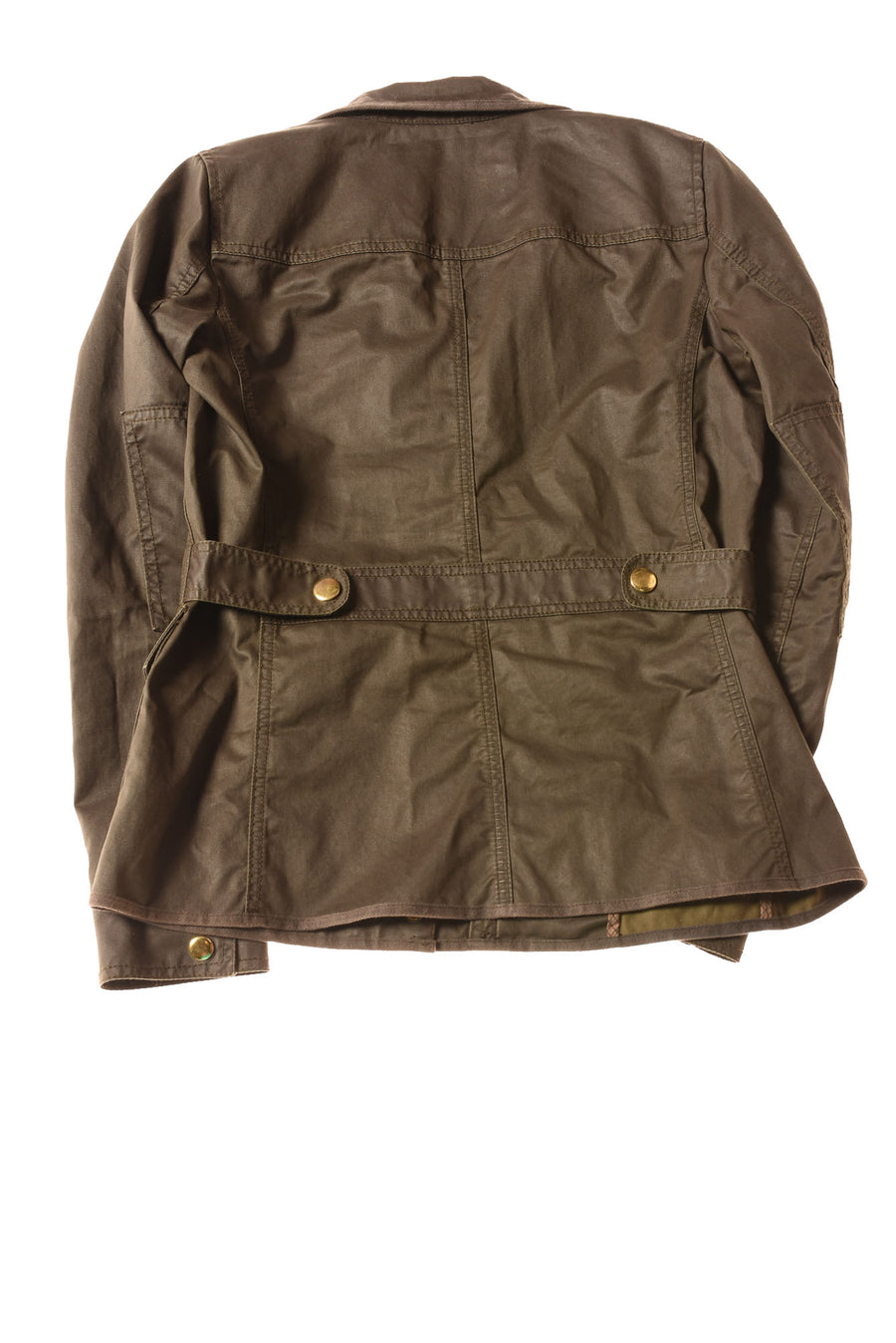 USED J.Crew Women's Coat X-Small Olive