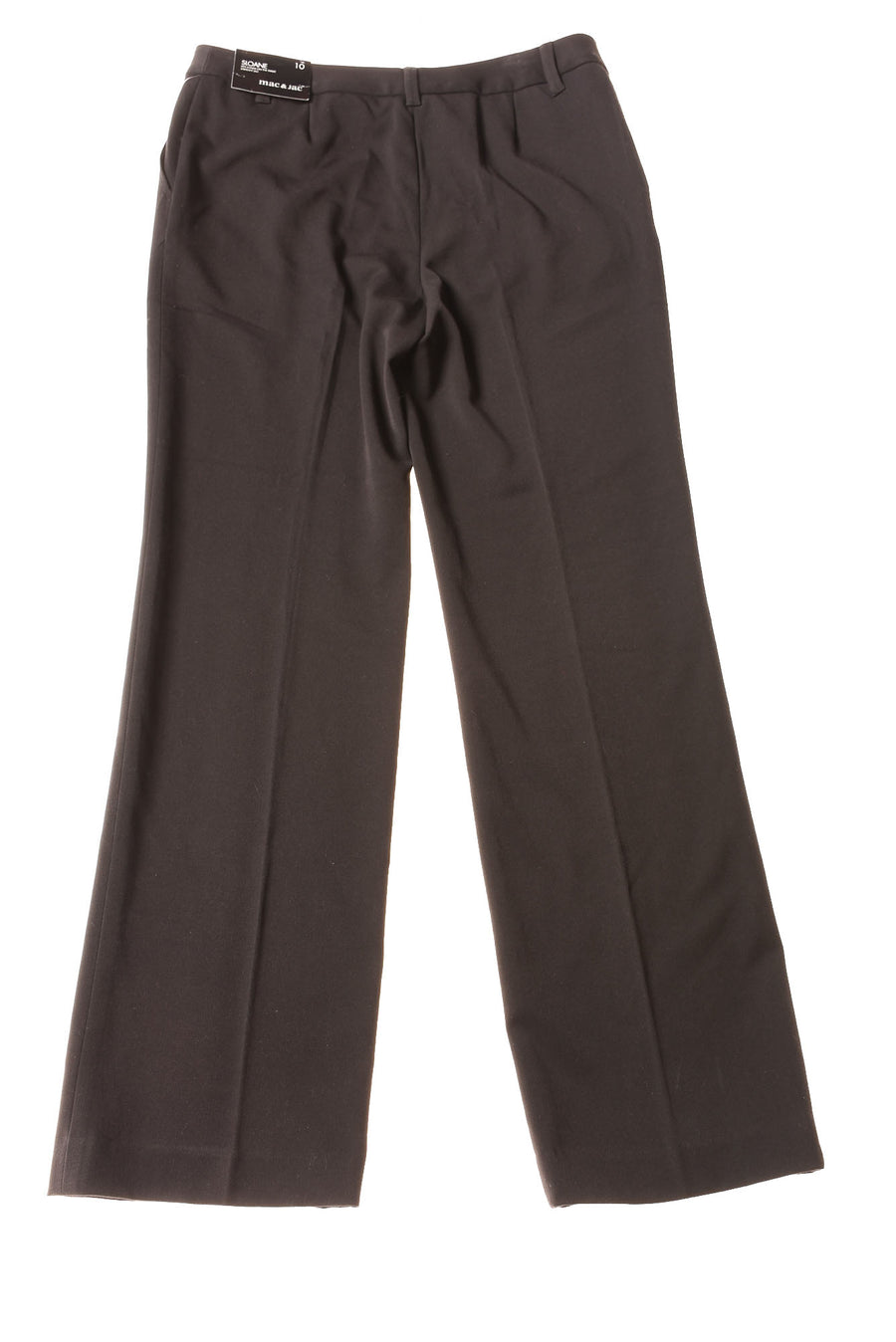 NEW Mac & Jac Women's Slacks 10 Black