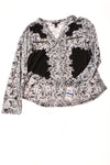 NEW International Concepts Women's Top X-Large Black & White