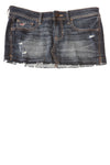 USED Hollister Women's Skirt 1 Blue
