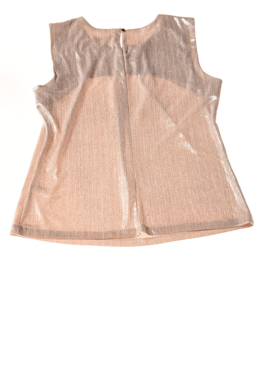 USED Calvin Klein Women's Top Medium Tan / Metallic