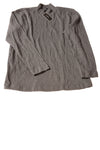 NEW Alfani Men's Shirt Medium Gray