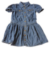 USED Ralph Lauren Girl's Dress 8 Blue