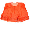 USED Michael Kors Women's Top X-Large Orange