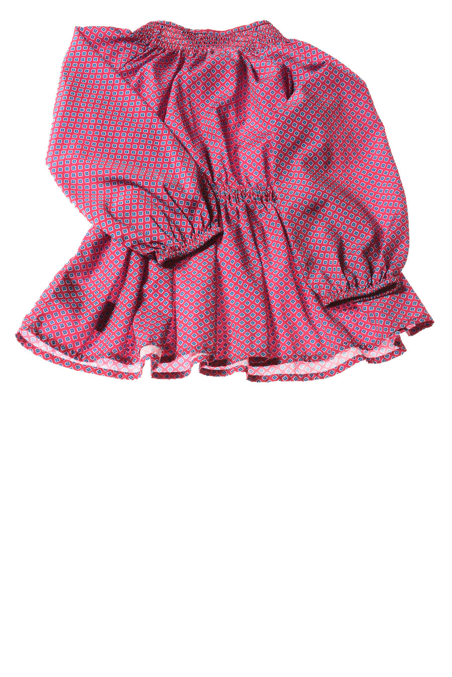 USED Ralph Lauren Baby Girl's Top 24 Months Pink / Print