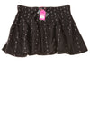 NEW Candies Women's Skirt Large Black & White