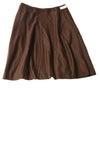 NEW Talbots Women's Skirt 14 Brown