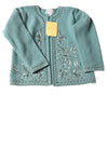 NEW Louis Dell' Olie Women's Sweater X-Small Aqua