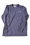 USED Under Armour Men's Shirt Small Blue/Striped