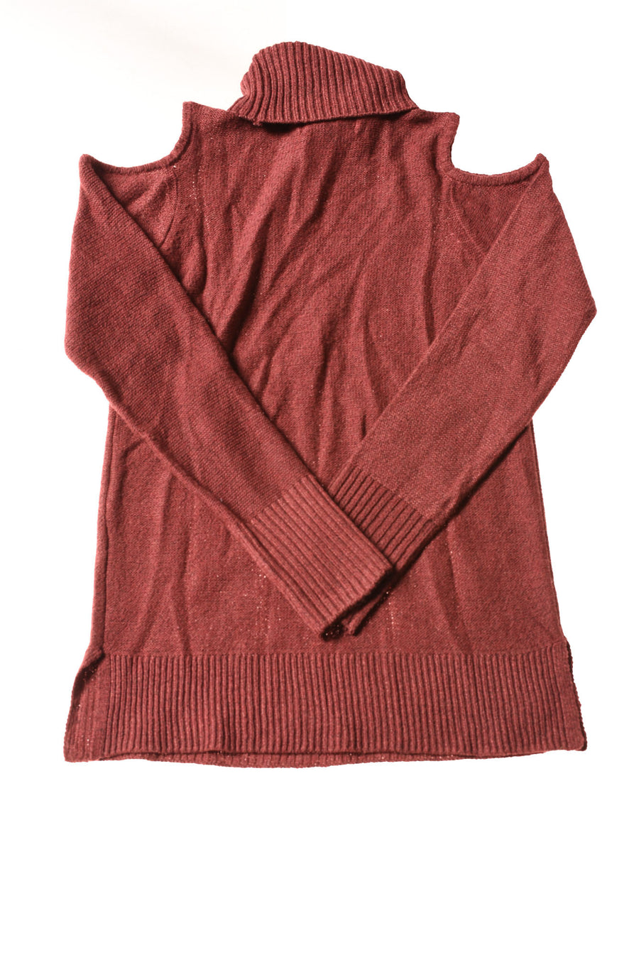 NEW Pink Rose Women's Sweater Small Cranberry
