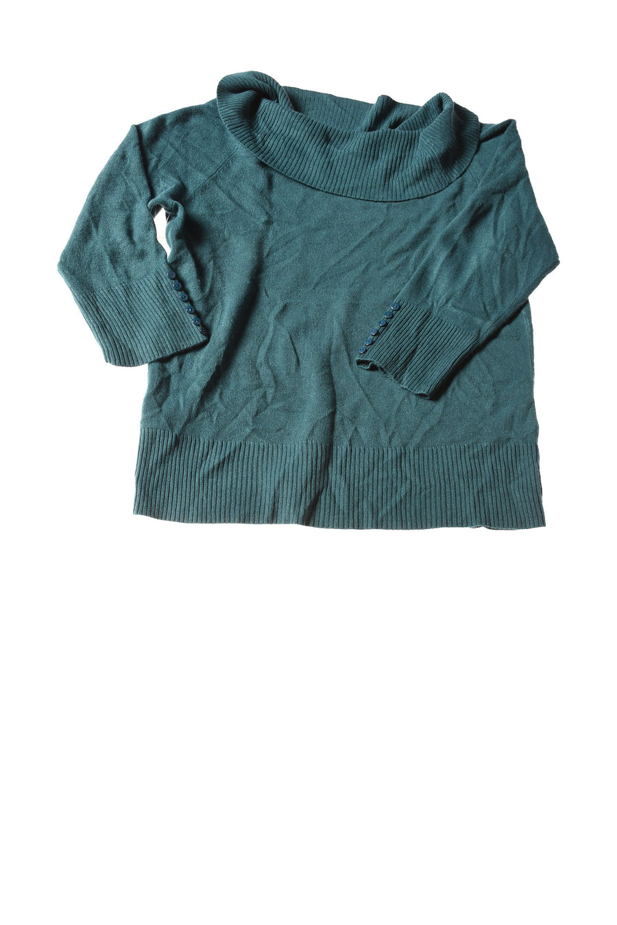 NEW Debbie Morgan Women's Sweater Large Teal