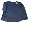 NEW Chico's Women's Top 3 Blue