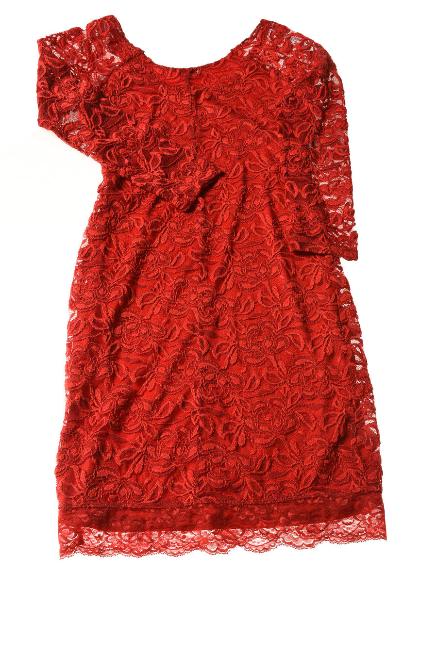 USED Guess Women's Dress Small Red
