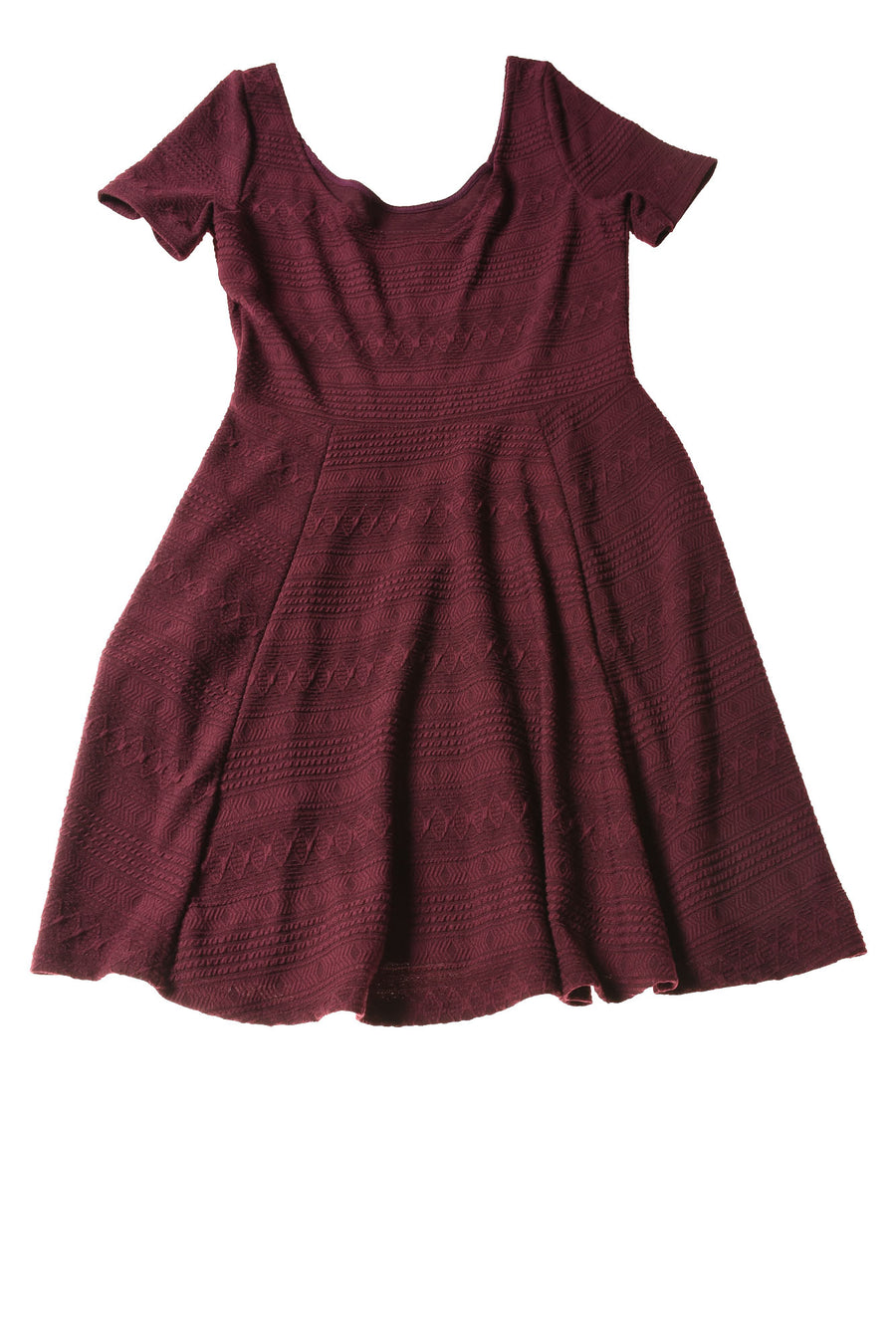 NEW Divided Women's Dress Small Maroon