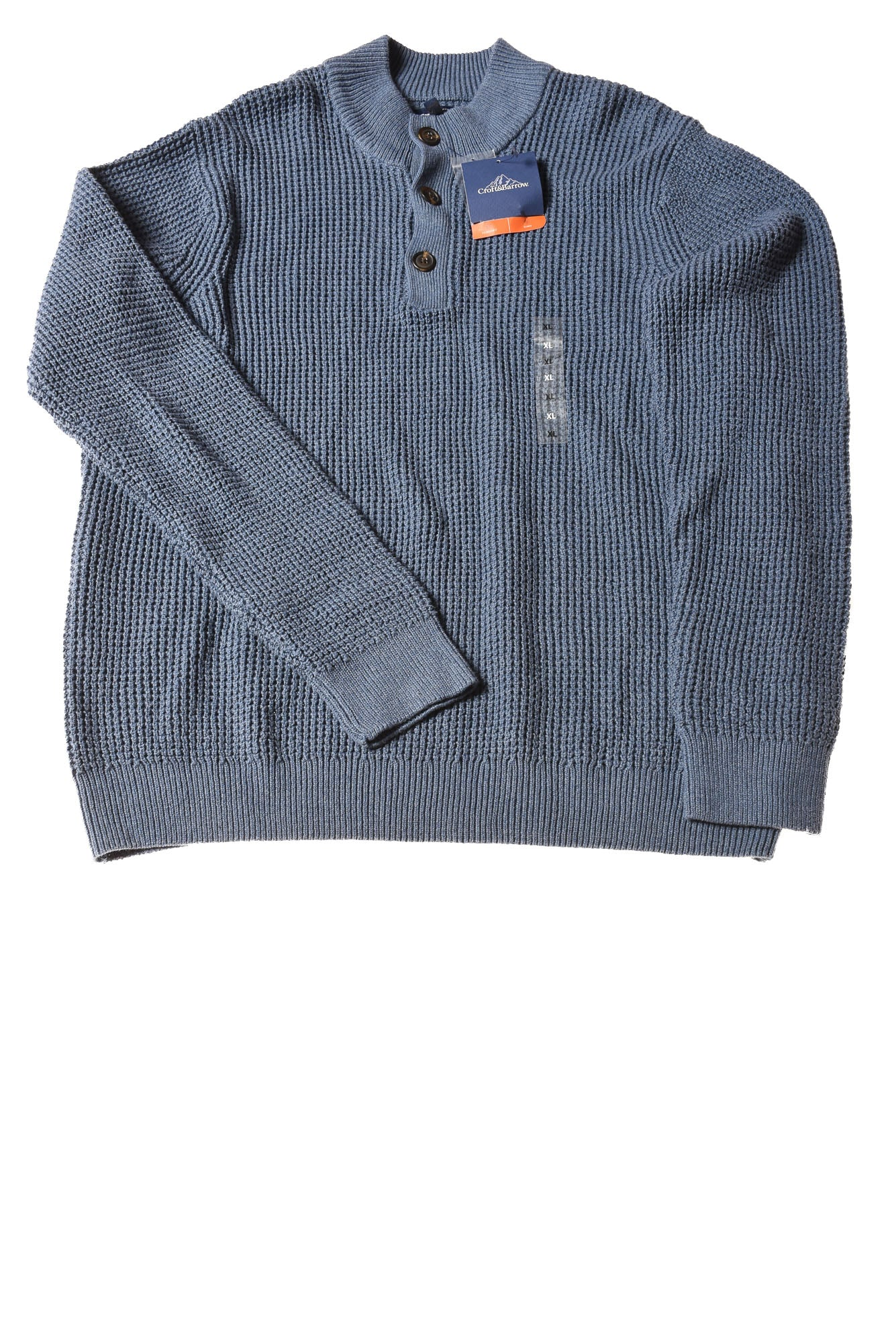 ada0cd5968ee3d NEW Croft   Barrow Men s Sweater X-Large Blue - Village Discount Outlet